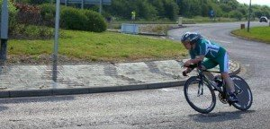 Peter Dixon riding the WLC 50m TT